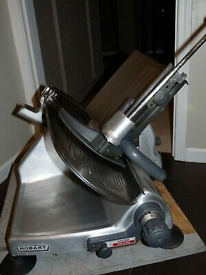 """Hobart Manual Deli Meat Cheese Slicer 12"""" Blade Model 2812 Commercial Ohio"""
