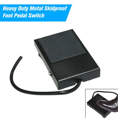 10cm Cord Foot Switch Power Foot Pedal Plastic Non Skid On//Off Control