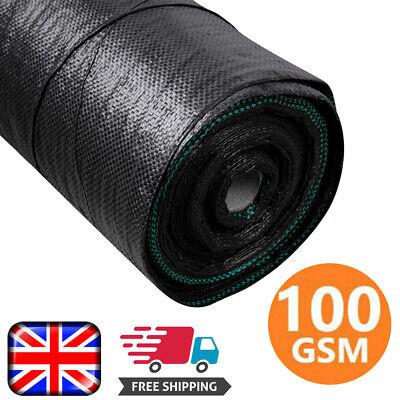 Heavy Duty Weed Control Fabric Mat Sheet Garden Ground Landscape Weed Membrane