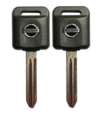 2 Ignition Key Blank Transponder Chip ID 46 Compatible with Nissan