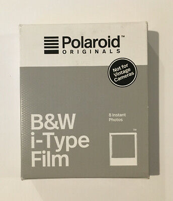 Polaroid Originals 4669 B+W Glossy Instant Film for i-Type Cameras (OneStep2)