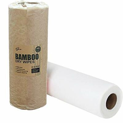 Jebblas Bamboo Kitchen Roll   Washable Towels Made out of 2 Rolls