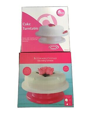 Cake Decorating Turntable X2