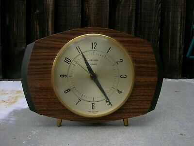 Vintage Metamec Mantle Clock. 1970s. Fully Working