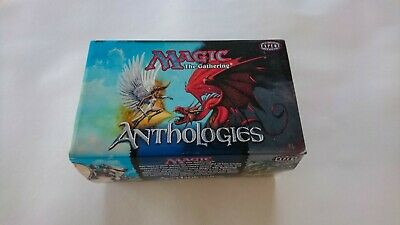 Magic The Gathering Anthologies Gift Box With 2 Decks Inside, MTG TCG CCG