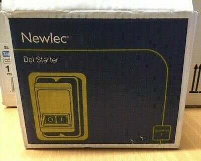 Newlec Dol Starter -  NLSTM27C - IP55 - Weather Proof - Steel Enclosure