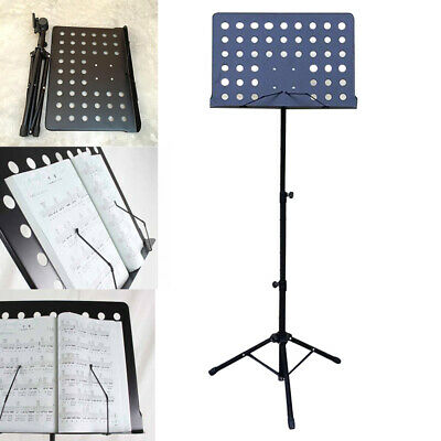 Heavy Duty Orchestral Music Stand Folding Adjustable Sheet Stand Tripod Base UK