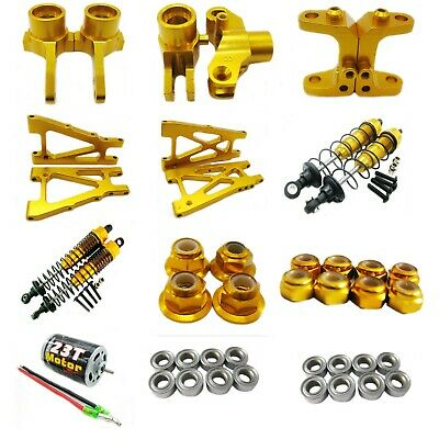 Upgrade Aluminum Metal DIY parts For Kyosho Optima 1//10 4WD Buggy Rc car Rot