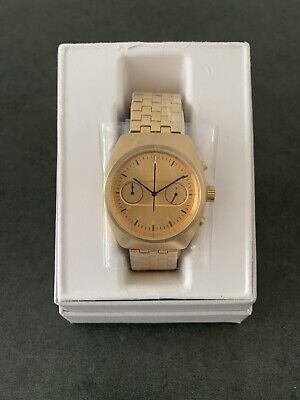 Adidas Process Chrono M3 Stainless Steel Gold 40mm Men's Watch [Z18502-00]