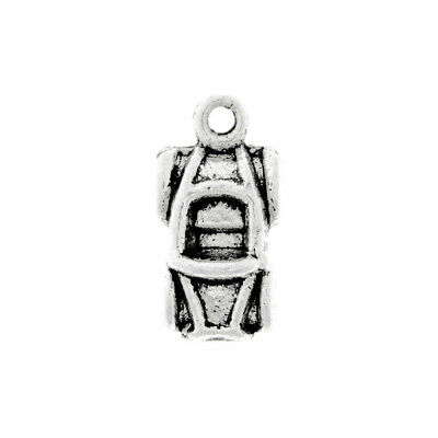 50pcs Tibetan Silver Charm Spacer Pendant Jewelry Findings Helicopter 18x18x2mm