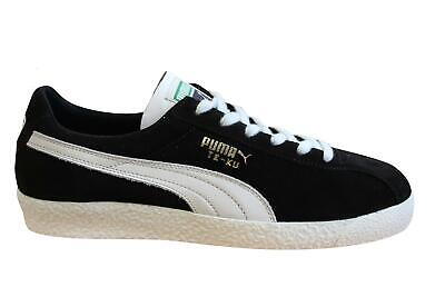 NEUF PUMA TE KU Prime Leather 366679 01 Hommes Baskets