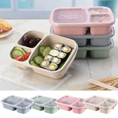 Microwave Bento Lunch Box Picnic Food Fruit Container Box HOT For Kids FCXA