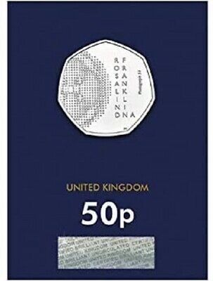 2020 Rosalind Franklin Bu Uncirculated 50P Fifty Pence - Official Uk Issue