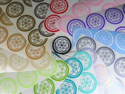 2 inch /'Seed of Life/' Sticker Pack Vinyl Decals, Sacred Geometry