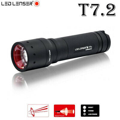 Led Lenser P7 450LM 2019 Model Torch Flashlight lamp in Gift Box /&Pouch Included