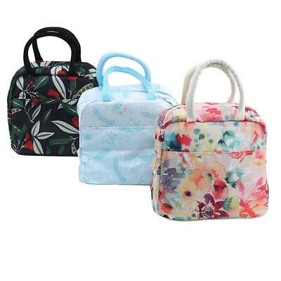 Childrens Kids Adult Lunch Insulated Cooler Picnic Bags School Lunch Box DS