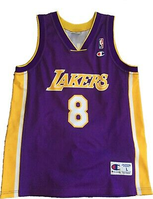 Maillot Kobe Bryant #8 Los Angeles Lakers Champion Taille L
