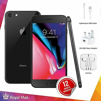 Apple iPhone 8 64/256GB Unlocked SIM Free Smartphone Various Grade All Colours