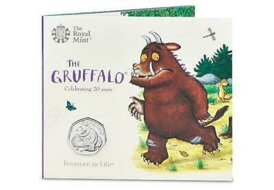 The Gruffalo and The Mouse 2019 UK 50p In Original Royal Mint Pack BU