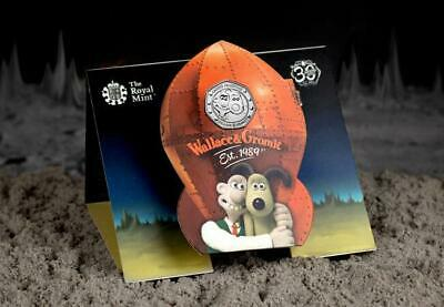 Wallace and Gromit 2019 UK 50p BU Royal Mint Pack
