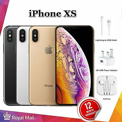 Apple iPhone XS 64GB - 512GB Unlocked SIM Free Smartphone Various Colours Grades