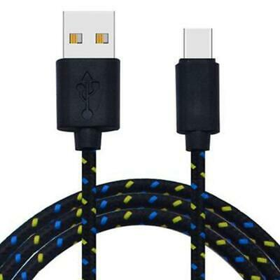 Heavyduty Braided Fast Charge USB TO MICRO B Data Phone Charger Cable kabel