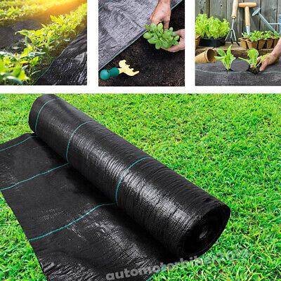 Heavy Duty Weed Control Fabric Membrane Garden Ground Cover Extra Weed Mat Sheet