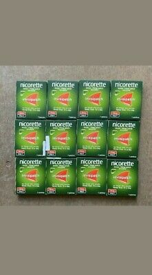 12 boxes of 7 Nicorette Step 2 15mg Invisi Patches only  £99.96
