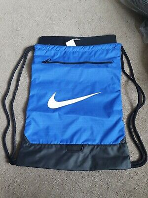 Nike Gymsack heritage 2.0 Sports Training Bag Drawstring PE Team Kit Gym Bag