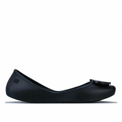 Double Buckle Womens Zaxy Chic Buckle Shoes In Black Grippy Outsole Slip On