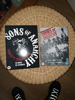 Sons Of Anarchy Season 1-5