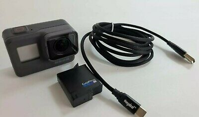 GoPro Hero5 HD Black Edition Action Camera 4K30 12MP 33FT Water Resistant *READ