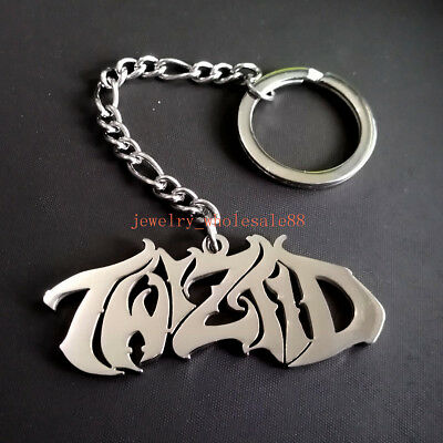 Key Ring  ICP Twiztid Script Key Chain Stainless steel Hand Made Jewelry for Men