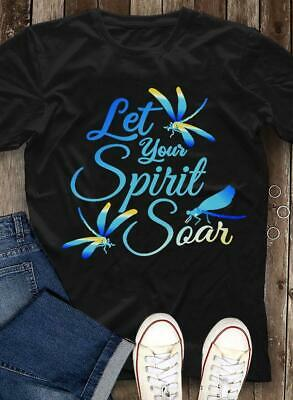 Let Your Spirit Soar CON109 Connector Charm Stainless Steel Bar