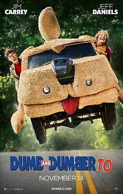 Harry Dunne Print Funny Bathroom Art Dumb and Dumber Movie Poster