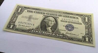 $1 1957-A Non Star Type Note CHOICE CRISP UNCIRCULATED