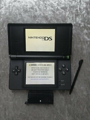 Nintendo DS Lite Console - Black - Great Condition Refurbished