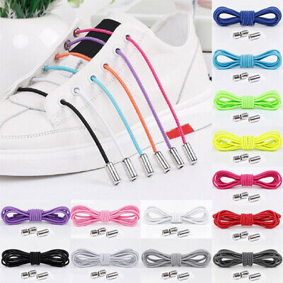 Easy No Tie Elastic Lock Shoe Laces ShoeLaces Strings For Kids/Adults Sneaker