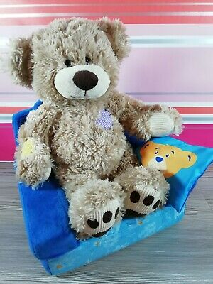 Colourful Patchwork Design Brown Bear Build-A-Bear BAB Plush Cuddly Soft Toy