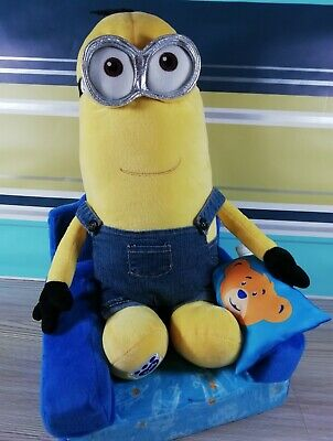 Minion Kevin with Denim Overalls Build-A-Bear BAB Plush Cuddly Soft Toy