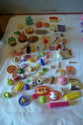 Dollhouse Miniature 2 Raspberry Doll Food Smoothie Drinks 391