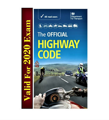 The Official DVSA Highway Code by Driver and Vehicle Standards Agency Book 2020