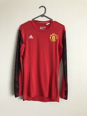 Manchester United Tech Fit Compression Base Layer Medium Adidas Long sleeve