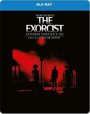 The Exorcist - Extended Cut (Blu-ray, Region Free) Steelbook BRAND NEW RARE