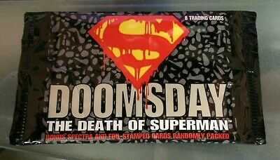Doomsday Death Of Superman 1992 Sealed Trading Cards, Randomly Packed!