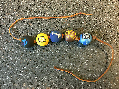 Percy Jackson Wooden Bead Necklace for Camp Half-Blood for Costume Halloween