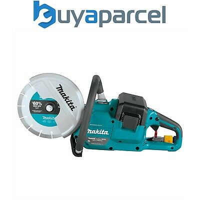 """Makita DCE090ZX1 Twin 18v / 36v 9"""" Cordless Brushless Disc Cutter Saw - Bare"""