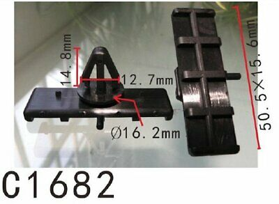25 GROUND EFFECTS MOULDING CLIPS JEEP 55156447-AB