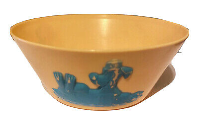 Hanna Barbera Character Bowl Vintage Huckleberry Hound Cartoon Character Plastic Bowl Child/'s Cereal Bowl 1961 Hanna Barbera Productions