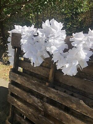 Primitive Feather Tree Garland*Swag*Wood Holly Berries*Basket*Mantel*9 Foot*